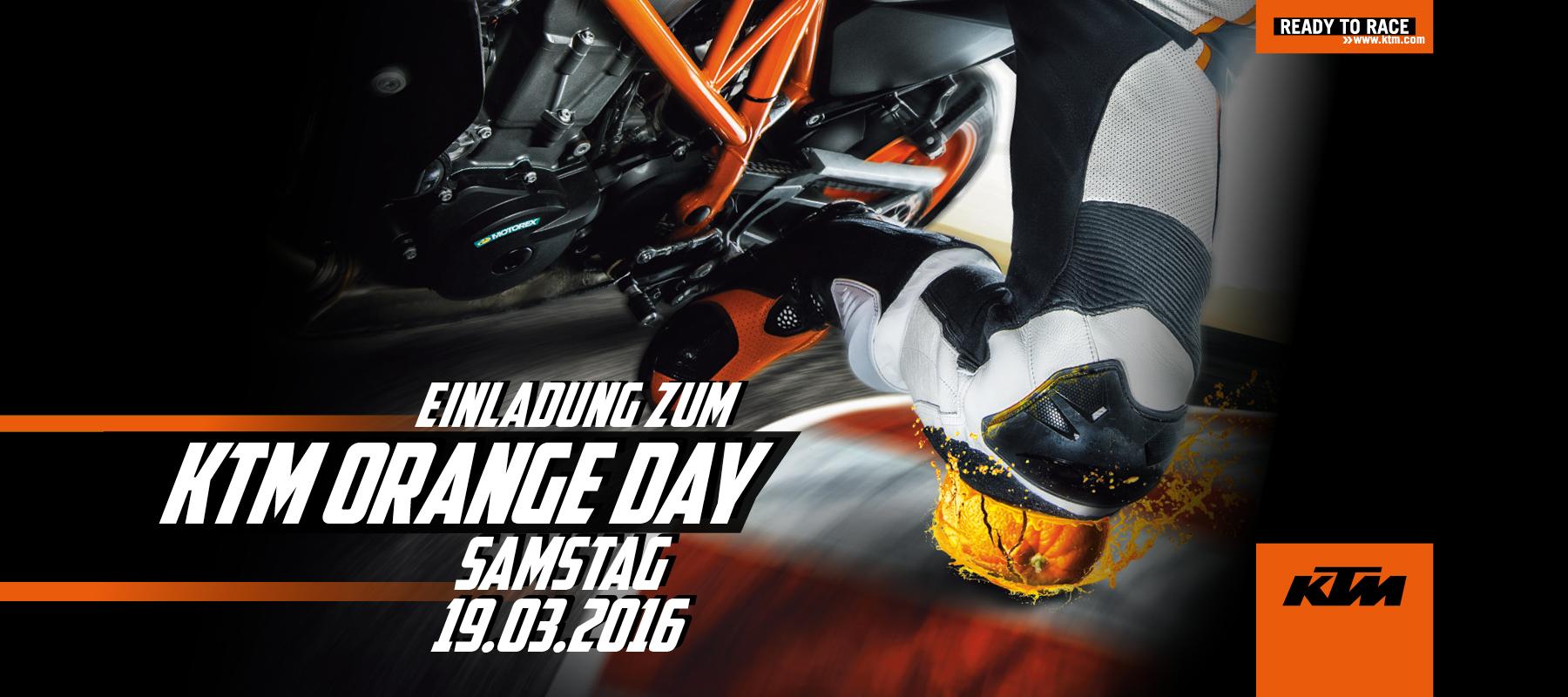 KTM ORANGE DAY 2016