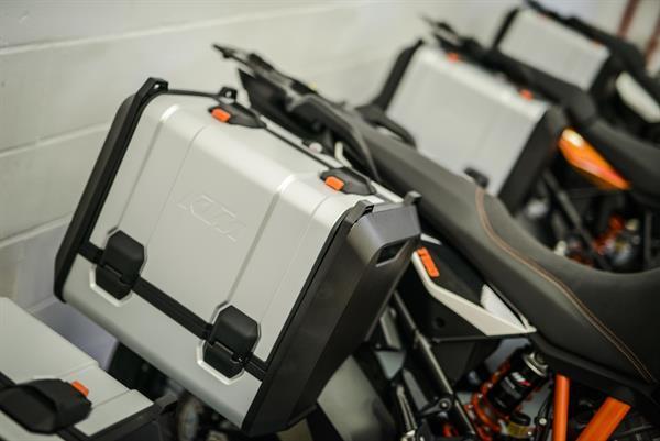 Kofferträger für alle KTM 1050 ADVENTURE, KTM 1190 ADVENTURE/R sowie KTM 1290 SUPER ADVENTURE-Fahrzeuge