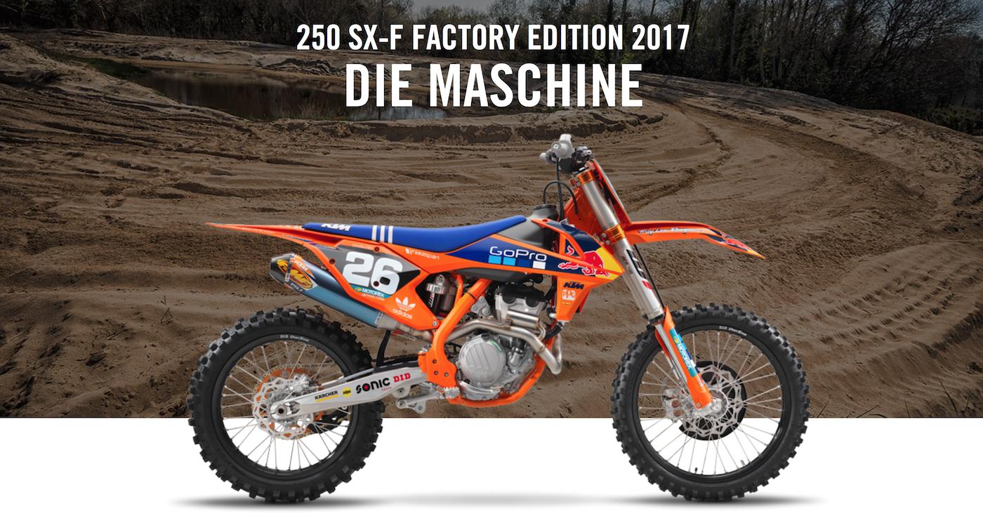 ktm 250 sx-f factory