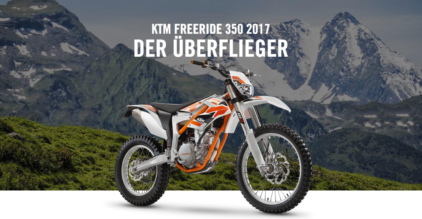 KTM 350 Freeride 2017