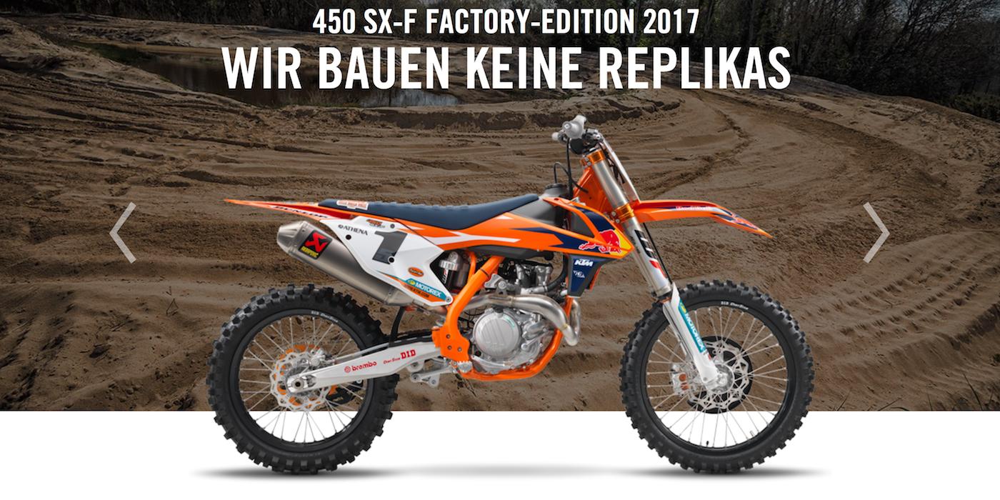 ktm 450 sx-f factory