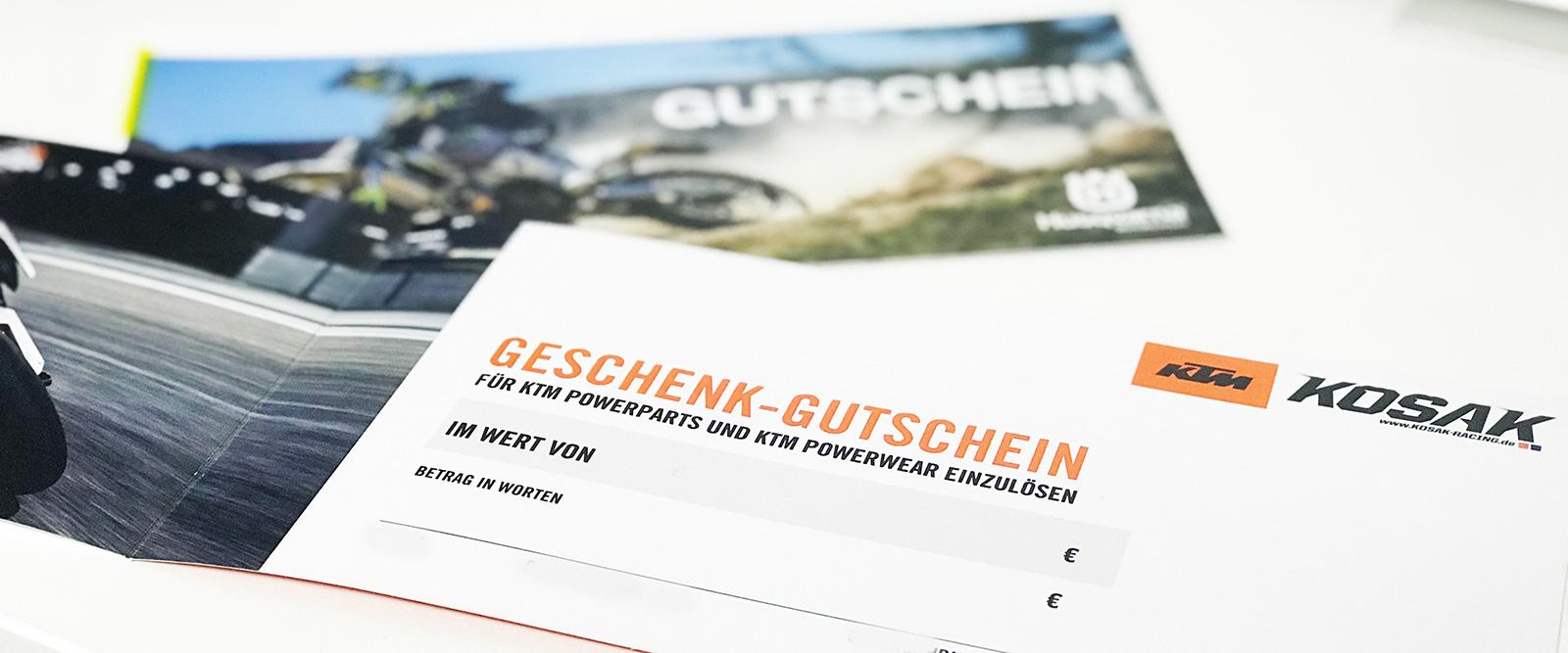 KTM GUTSCHEIN